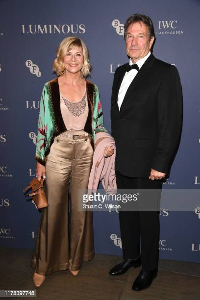 Glynis Barber and Michael Brandon attend the BFI Luminous Fundraising Gala at The Roundhouse on October 01 2019 in London England