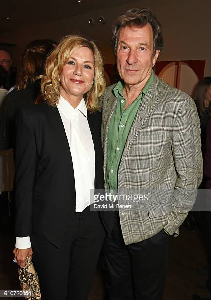 Glynis Barber and Michael Brandon attend the press night after party for 'The Libertine' at the Haymarket Hotel on September 27 2016 in London England