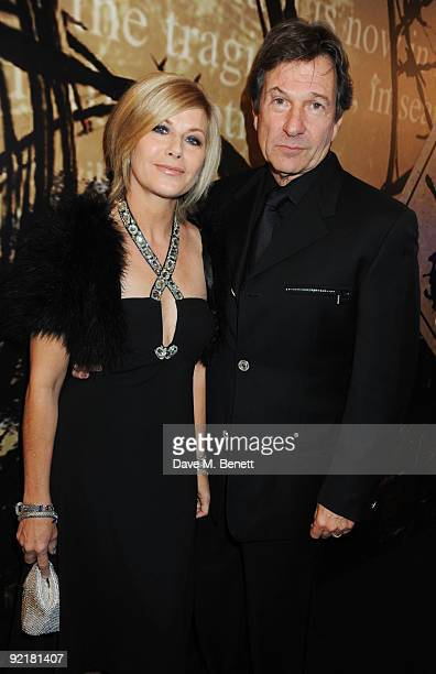 Glynis Barber and Michael Brandon attend the Specsavers Crime Thriller Awards at the Grovesnor House Hotel on October 21 2009 in London England