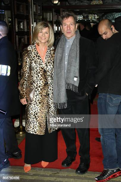 Glynis Barber and Michael Brandon attned 'The Exorcist' press preview at the Phoenix Theatre on October 31 2017 in London England