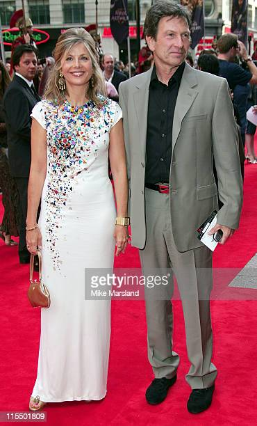 Glynis Barber and Michael Brandon during 'King Arthur' London Premiere Arrivals at Empire Leicester Square in London Great Britain
