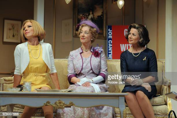 Glynis Barber as Alice Russell Maureen Lipman as Mrs Gamadge and Emma CampbellJames as Catherine in Gore Vidal's The Best Man at the Playhouse...