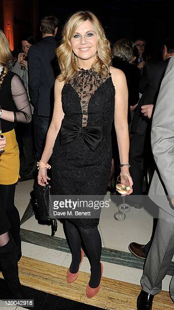 Glynis Barber attends an after party celebrating the press night performance of 'Singing In The Rain' at Freemasons Hall on February 15 2012 in...