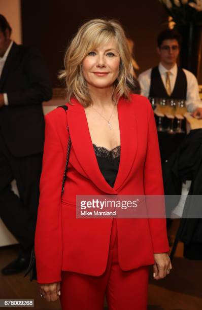 Glynis Barber attends as auction house hosts champagne reception to preview a selection of the 1000lot estate of the late author Jackie Collins ahead...