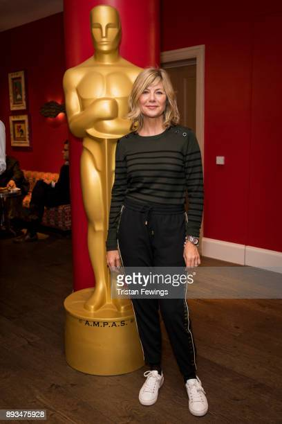 Glynis Barber attends the Academy of Motion Picture Arts & Sciences official Academy screening of Star Wars: The Last Jedi at Ham Yard Hotel on...
