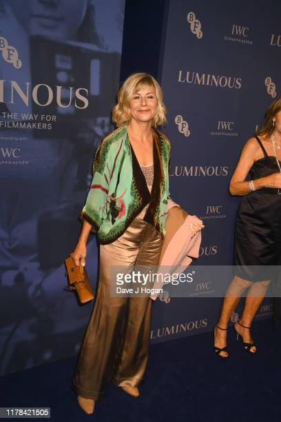 Glynis Barber attends the BFI Luminous Fundraising Gala at The Roundhouse on October 01 2019 in London England