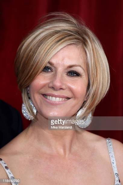 Glynis Barber attends the British Soap Awards at The London Television Centre on May 8 2010 in London England