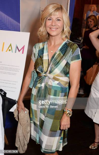Glynis Barber attends the JDW Midster Live AW18 Catwalk Show and party presented by JD Williams during London Fashion Week September 2018 at One...