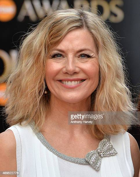 Glynis Barber attends The Olivier Awards at The Royal Opera House on April 12 2015 in London England