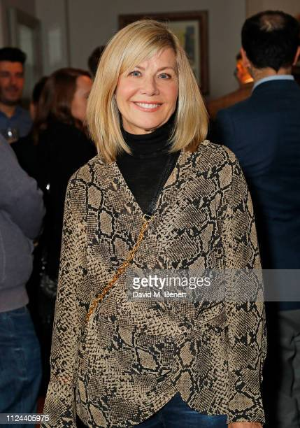 Glynis Barber attends the press night after party for The Girl On The Train at The Duke Richmond on February 12 2019 in London England