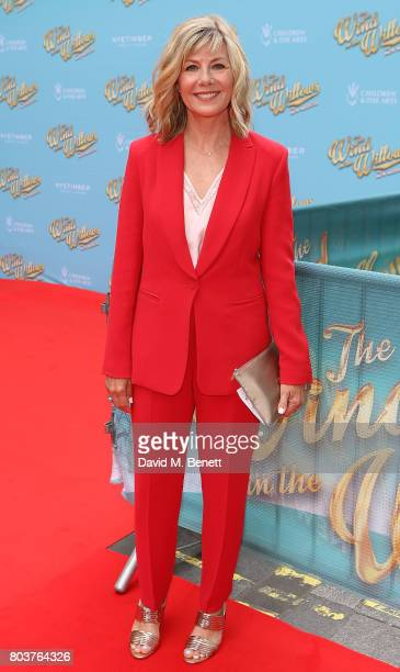 Glynis Barber attends the press night performance of The Wind In The Willows at the London Palladium on June 29 2017 in London England