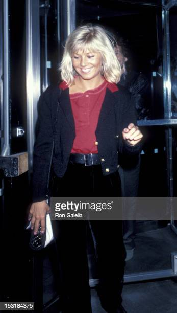 Glynis Barber attends the screening of After Hours on September 11 1985 at the Museum of Modern Art in New York City