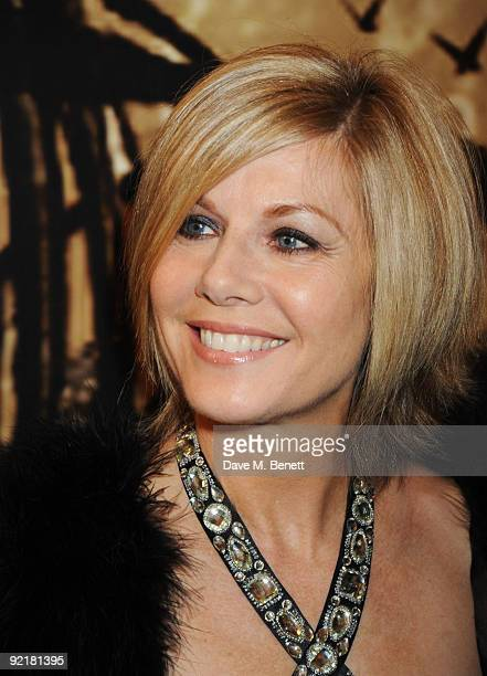 Glynis Barber attends the Specsavers Crime Thriller Awards at the Grovesnor House Hotel on October 21 2009 in London England