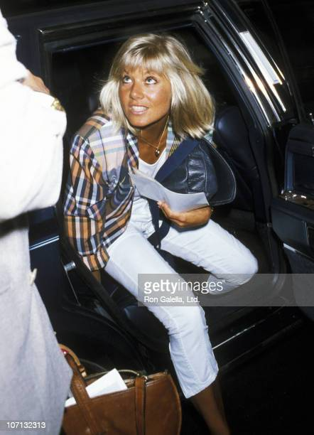 Glynis Barber during Glynis Barber Sighting at the Westbury Hotel September 9 1985 at Westbury Hotel in New York City New York United States