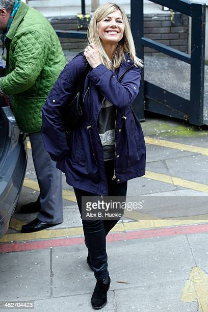 Glynis Barber sighted leaving the ITV Studios after an appearance on 'Loose Women' April 4 2014 in London England