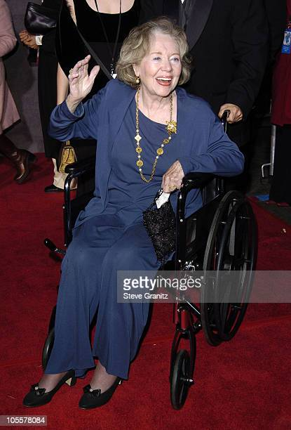 Glynis Johns during Mary Poppins 40th Anniversary and Launch of Special Edition DVD Arrivals at El Capitan Theatre in Hollywood California United...