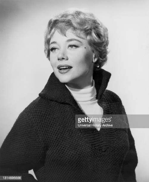 """Glynis Johns, Half-Length Publicity Portrait for the Film, """"Shake Hands With The Devil"""", United Artists, 1959."""