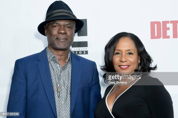 Glynn and Joann Turman attend Richard Lawson and Tina Knowles Lawson Launch at the WACO Theater Grand Opening at WACO Theater Center on November 3...