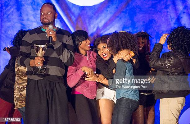 Glynn Jackson became a little nervous when the dance troupe Changing Illusionz stormed the stage with happiness after being announced the talent show...