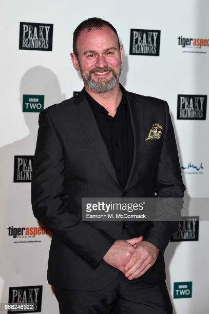 Glynn Purnell attends the Birmingham Premiere of Peaky Blinders at cineworld on October 30 2017 in Birmingham England