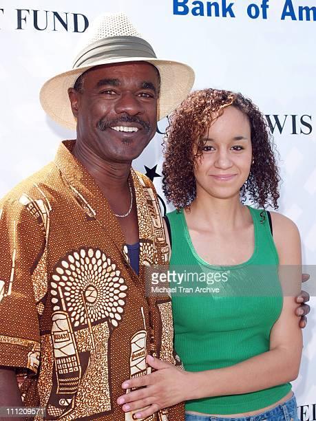 Glynn Turman and granddaughter Catherine during Kiki Shepard's 3rd Annual Celebrity Bowling Challenge to Benefit The Sickle Cell Disease Association...