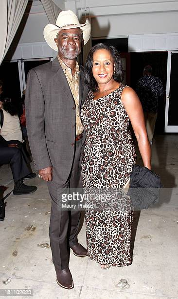Glynn Turman and his wife JoAnn Allen attend a PreEmmy Food Tasting Mixer hosted by Grey's Anatomy Star James Pickens Jr and wife Gina with Kim...