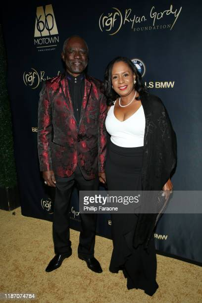 Glynn Turman and JoAnn Allen attend Ryan Gordy Foundation Celebrates 60 Years Of Mowtown at Waldorf Astoria Beverly Hills on November 11 2019 in...
