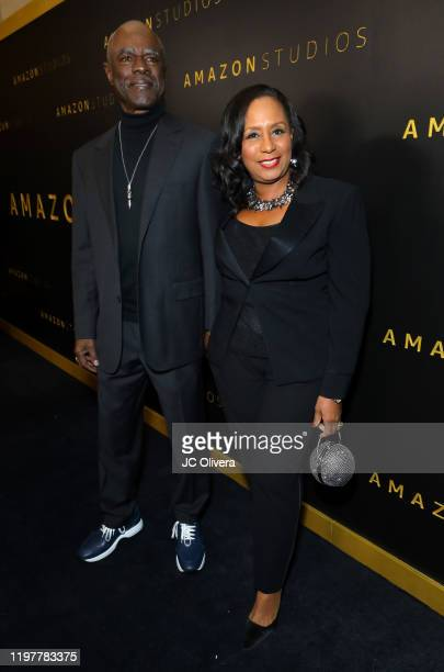Glynn Turman and JoAnn Allen attend the Amazon Studios Golden Globes After Party at The Beverly Hilton Hotel on January 05 2020 in Beverly Hills...