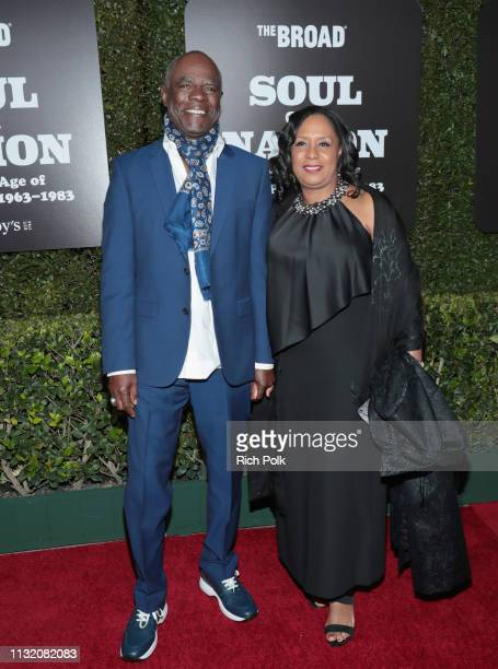 Glynn Turman and JoAnn Allen attend The Broad Museum celebration for the opening of Soul Of A Nation Art in the Age of Black Power 19631983 Art...