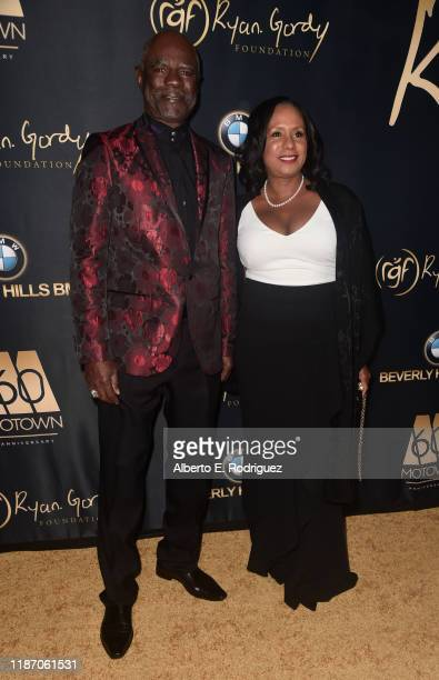 Glynn Turman and JoAnn Allen attend The Ryan Gordy Foundation Celebrates 60 Years Of Mowtown at Waldorf Astoria Beverly Hills on November 11 2019 in...