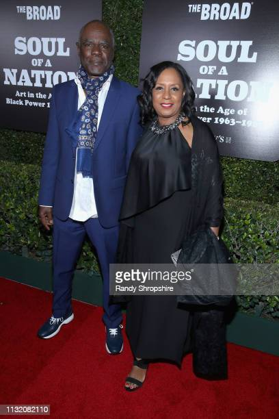 Glynn Turman and JoAnn Allen attends The Broad Museum celebration for the opening of Soul Of A Nation Art in the Age of Black Power 19631983 Art...
