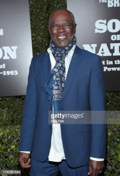 Glynn Turman attends The Broad Museum celebration for the opening of Soul Of A Nation Art in the Age of Black Power 19631983 Art Exhibition at The...