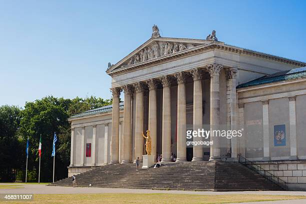 glyptothek in munich, germany - local landmark stock pictures, royalty-free photos & images