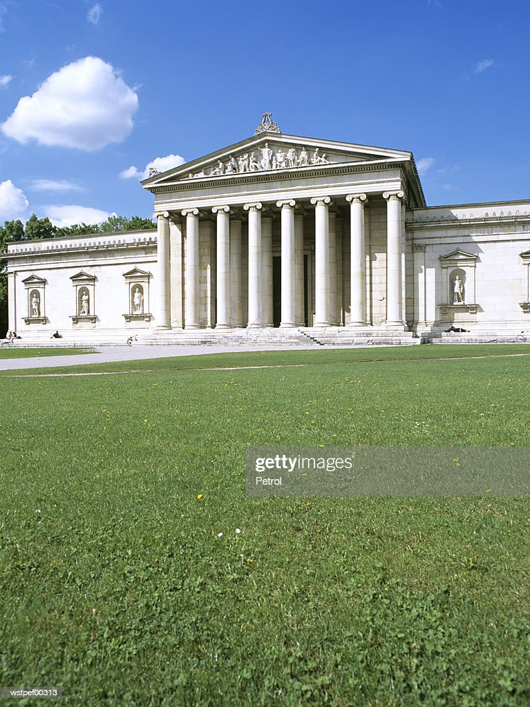 Glyptothek, Munich, Bavaria, Germany : Foto de stock