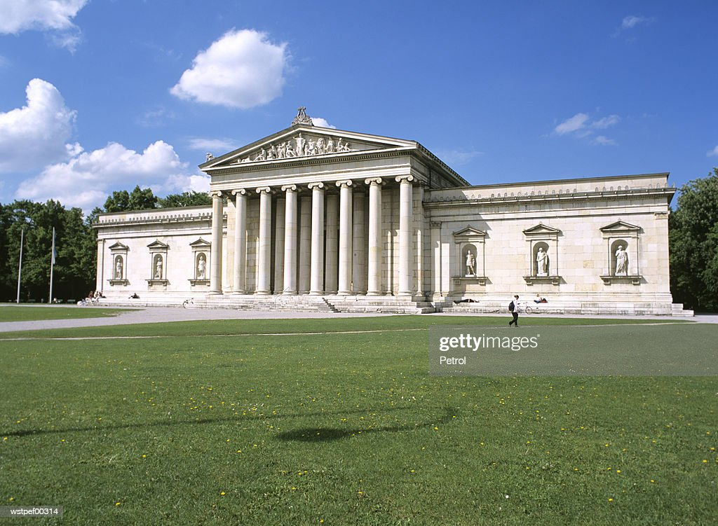 Glyptothek, Munich, Bavaria, Germany : ストックフォト