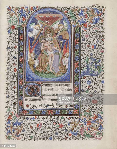 Gnadenstuhl 14401460 Found in the collection of the The Morgan Library Museum New York