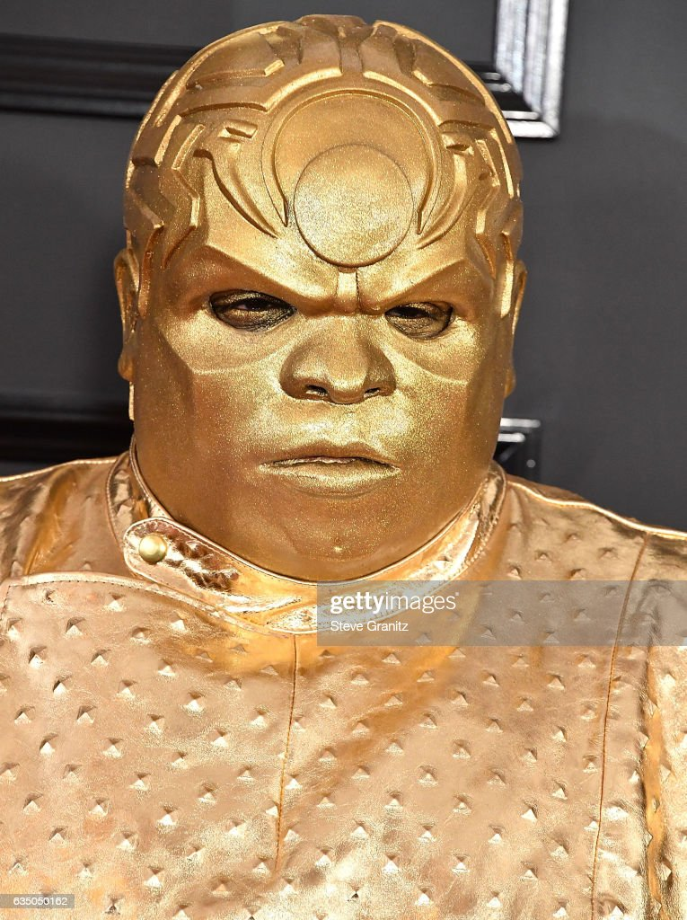 Gnarly Davidson, CeeLo Green arrives at the 59th GRAMMY Awards on February 12, 2017 in Los Angeles, California.