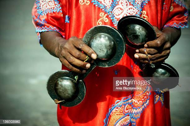 Gnawa music instruments.