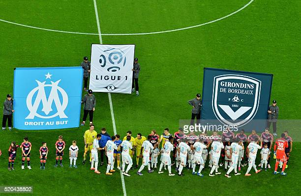 général illustration during the French League 1 match between Olympique de Marseille and FC Girondins de Bordeaux at Stade Velodrome on April 10 2016...