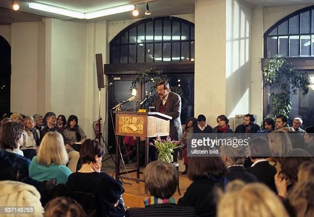 Günter Grass * Schriftsteller Künstler D Lesung 1986