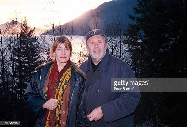 Günter Lamprecht mit Lebensgefährtin;Claudia Amm, Vancouver/Kanada, Urlaub, , Lebensgefährte,