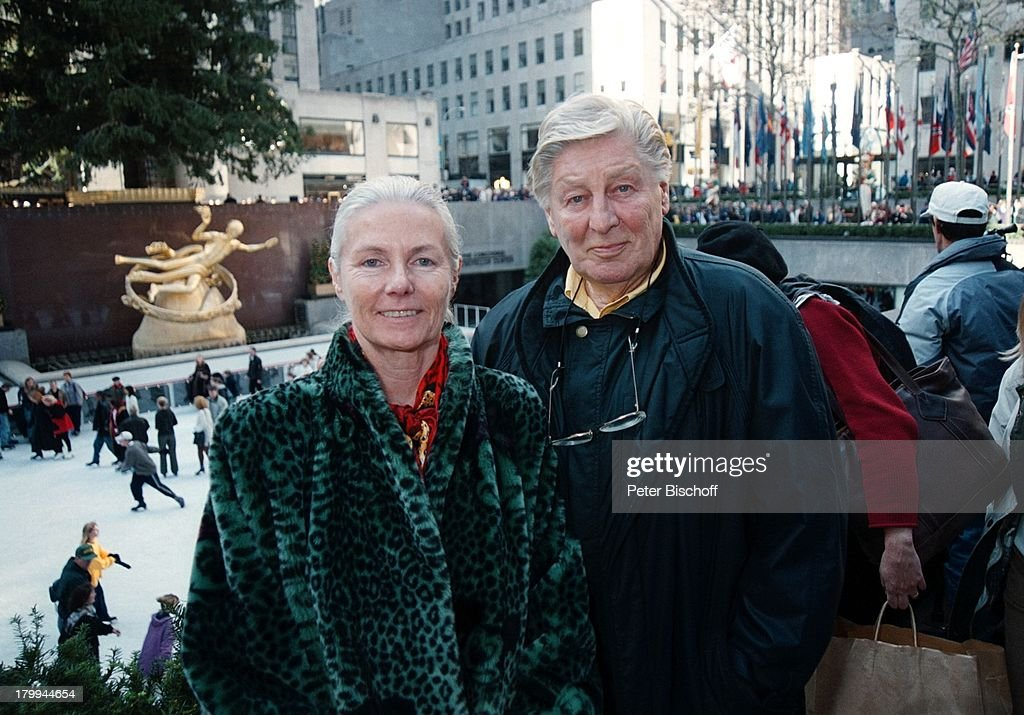 Günter Pfitzmann, Ehefrau Lilo, New York,;USA, Urlaub, Stadtbumm ...