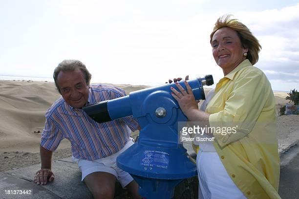 "Günter Wewel, Ehefrau Gisela, 4-Sterne-Hotel ""Riu Palace Maspalomas"", Playa del Ingles, Insel Gran Canaria, Kanaren, Kanarische Inseln, Spanien,..."