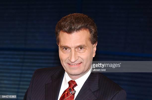 Günther Oettinger Vorsitzender der CDUFraktion im Landtag BadenWürttemberg D