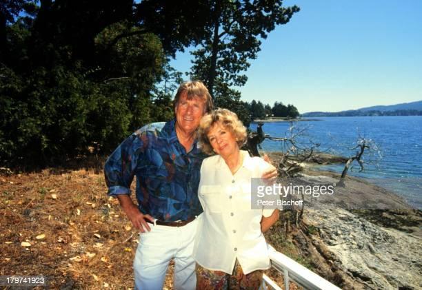 Günther Schramm mit Ehefrau Gudrun;Thielemann, Homestory, Vancouver;Island/Kanada, Meer, Wasser, Urlaub,