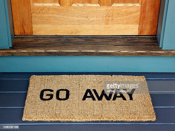 Go Away Door Mat