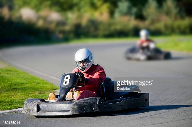 Go Cart Racing on Track