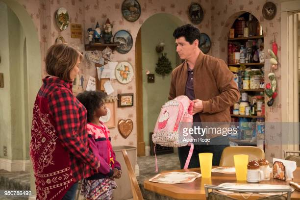 ROSEANNE Go Cubs The Conners can't pay their WiFi bill so they befriend their new neighbors to use the internet for Mary to Skype with mom Geena who...