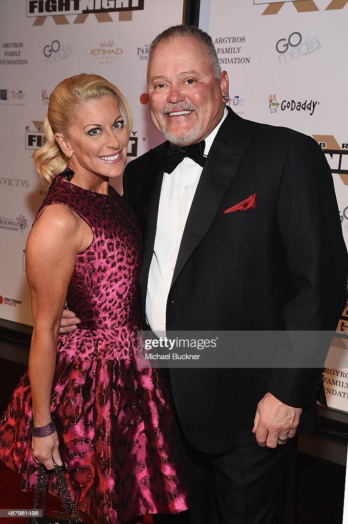Go Daddy Founder Bob Parsons and Renee Parsons attend