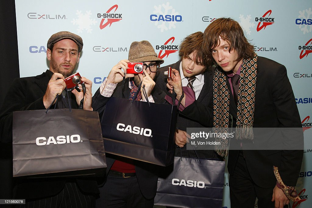 OK Go during Stuff Magazine Toys for Bigger Boys - Casio Gifting Area at Hammerstein Ballroom in New York City, New York, United States.